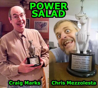 Power Salad Logan Award 2014 400